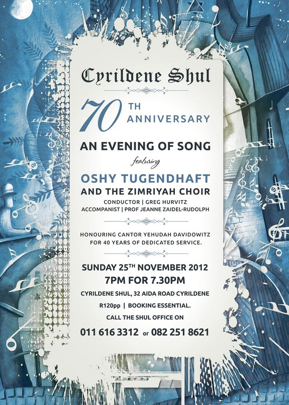 Cyrildene Shul - Evening of Song